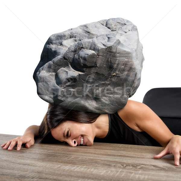 Women crushed Stock photo © alphaspirit