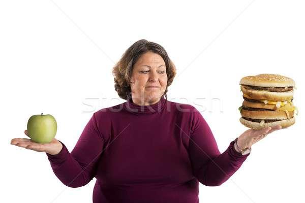 Undecided start diet Stock photo © alphaspirit