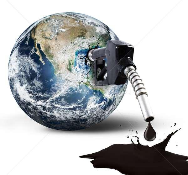 Pollution of the world Stock photo © alphaspirit