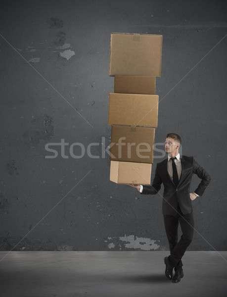 Easy business Stock photo © alphaspirit