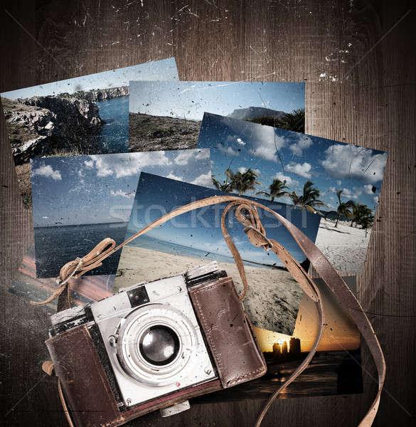 Summer travel photographs Stock photo © alphaspirit