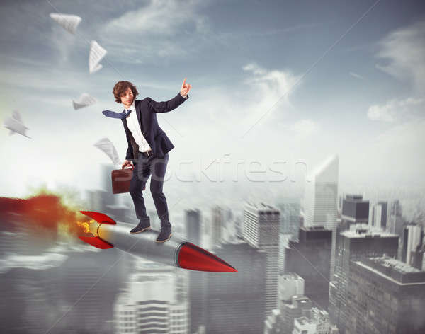 Increase the climb to success Stock photo © alphaspirit