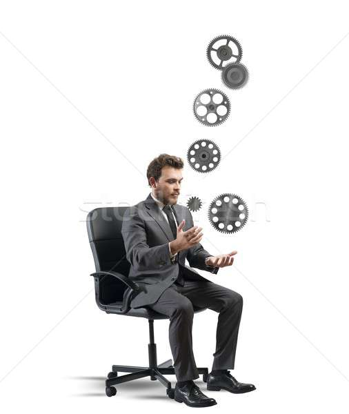 Business game Stock photo © alphaspirit