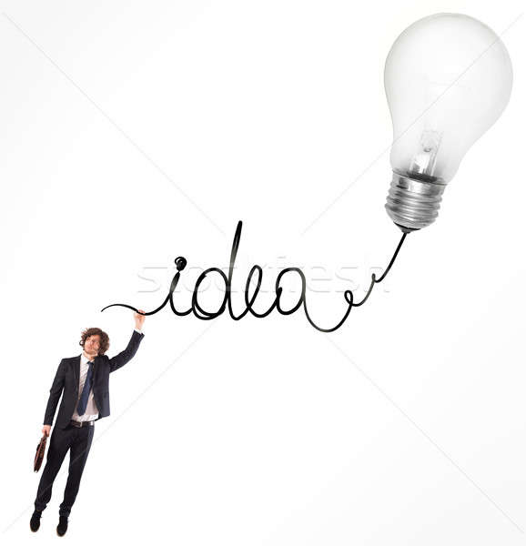 Idea for the development Stock photo © alphaspirit
