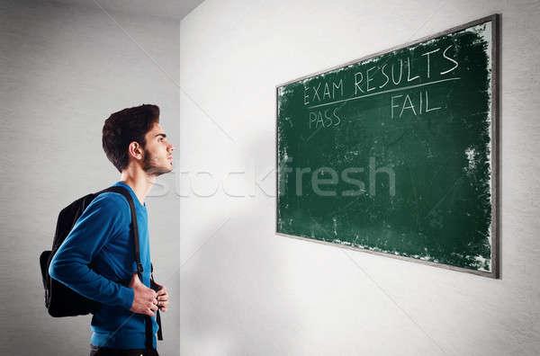 экзамен подростку студент мальчика Сток-фото © alphaspirit
