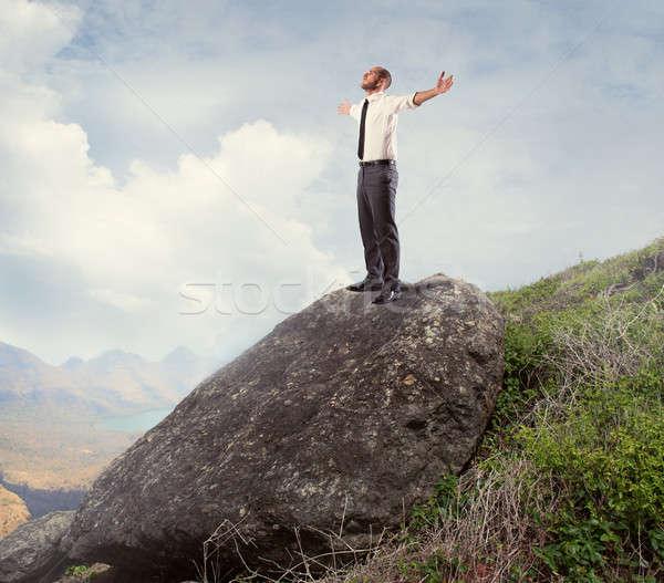 Success and freedom Stock photo © alphaspirit