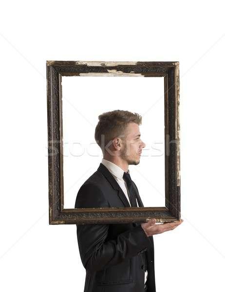 Framework in business Stock photo © alphaspirit
