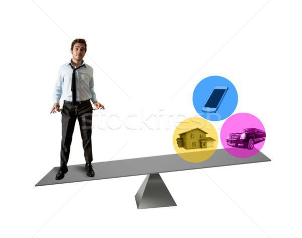 Life and economy balance Stock photo © alphaspirit