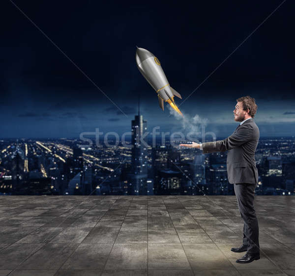 Startup of a new company. Concept of new business Stock photo © alphaspirit