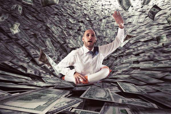 Failure of a businessman. Stock photo © alphaspirit