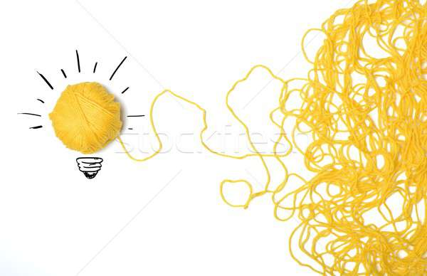 Stock photo: Idea and innovation concept