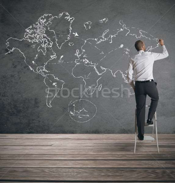Global business Stock photo © alphaspirit