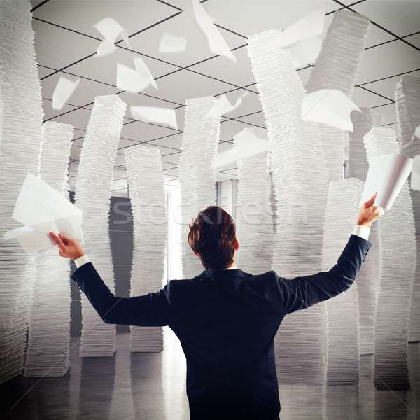 Endless paper Stock photo © alphaspirit