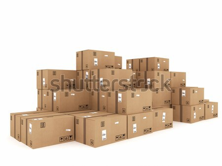 Packaged to be shipped Stock photo © alphaspirit