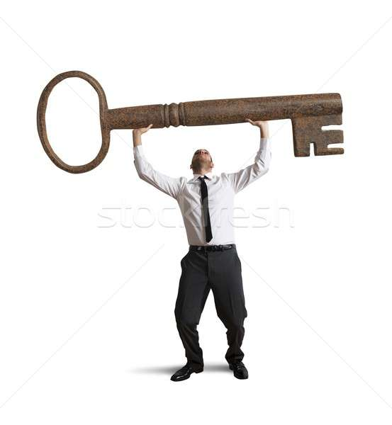 Key to success Stock photo © alphaspirit