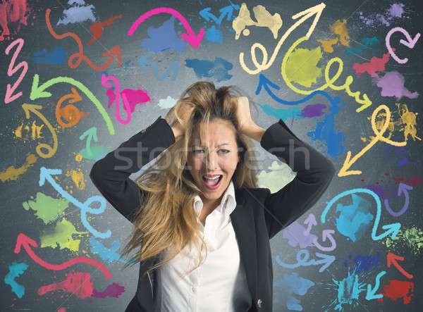 Difficult choices in business Stock photo © alphaspirit
