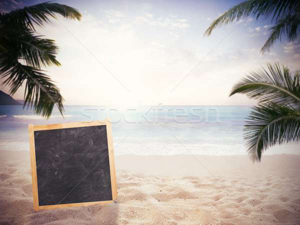 Closed for vacation Stock photo © alphaspirit