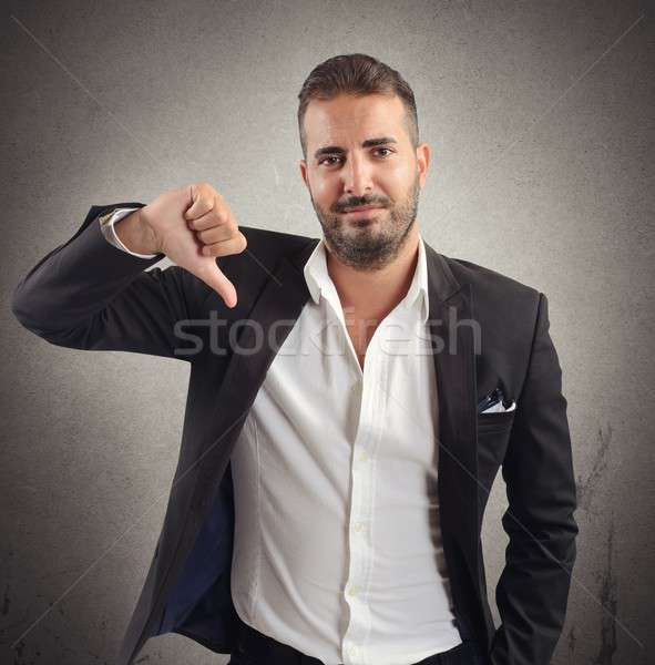 Negative investments Stock photo © alphaspirit