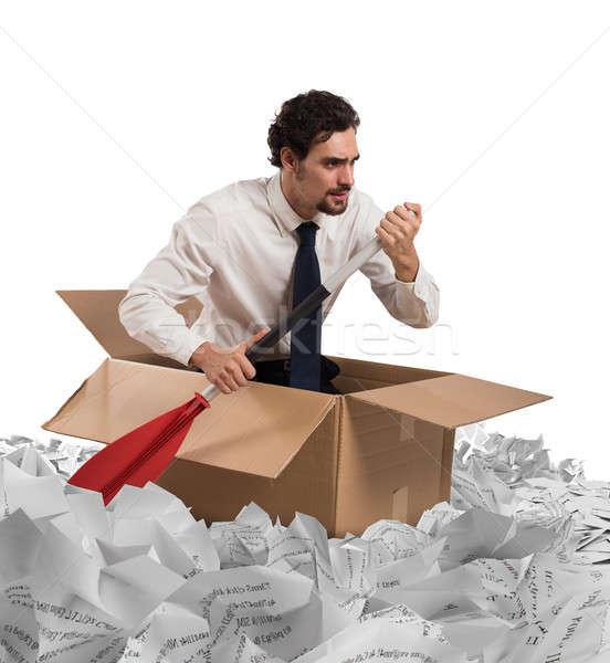 Navigate the bureaucracy Stock photo © alphaspirit