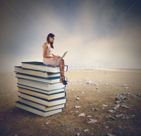 Read and relax Stock photo © alphaspirit