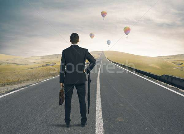 Way to success Stock photo © alphaspirit