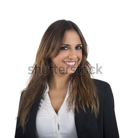 Employed businesswoman Stock photo © alphaspirit