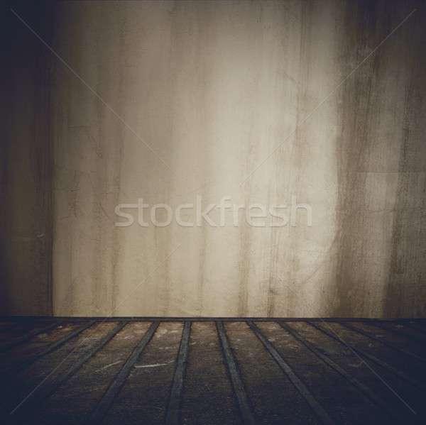 Grunge room background Stock photo © alphaspirit
