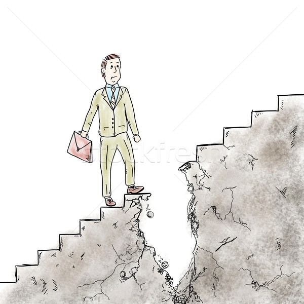 Difficulties and obstacles in career Stock photo © alphaspirit