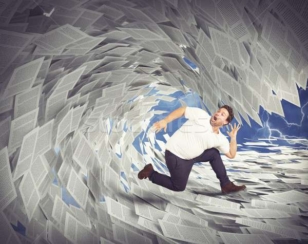 Tax wave Stock photo © alphaspirit