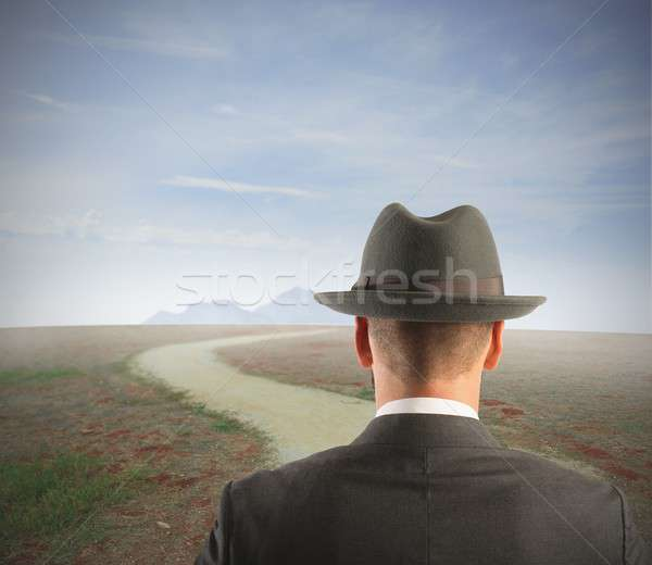 Long way to the career Stock photo © alphaspirit