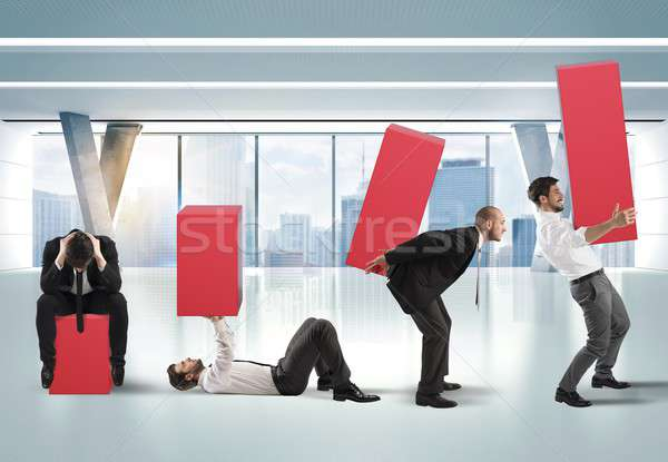 Raise stats with fatigue Stock photo © alphaspirit