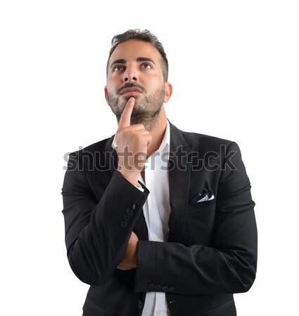 Decision of a  businessman Stock photo © alphaspirit