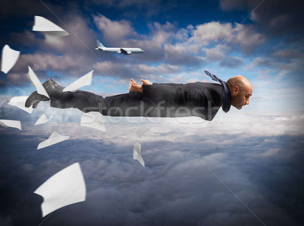 Stock photo: Business super fast