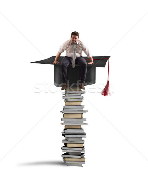 Conquest of the degree and the successful work Stock photo © alphaspirit