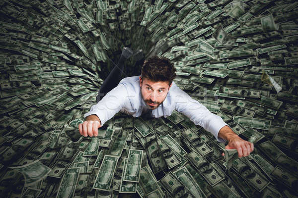 Black hole of money Stock photo © alphaspirit