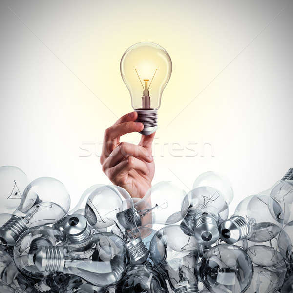 Great business idea. 3D Rendering Stock photo © alphaspirit