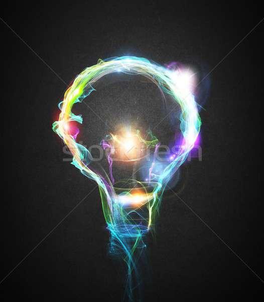 Light bulb Stock photo © alphaspirit
