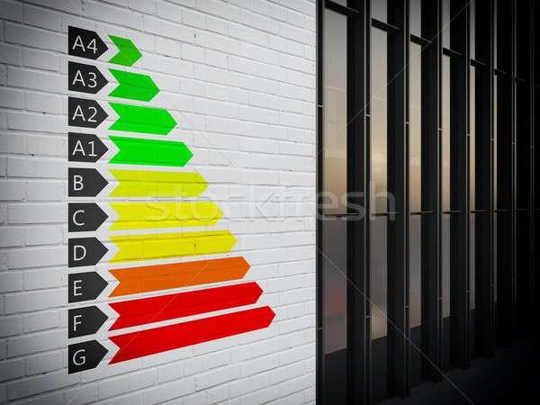 Energy certification Stock photo © alphaspirit