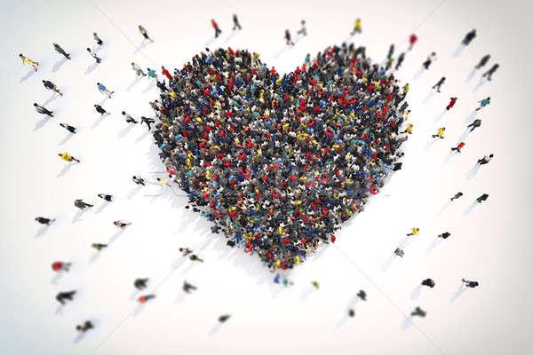 3D Rendering of love Stock photo © alphaspirit