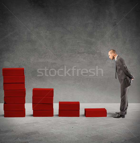 Faliure and crisis concept Stock photo © alphaspirit