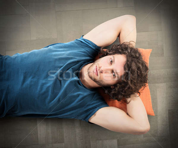Relax at home Stock photo © alphaspirit