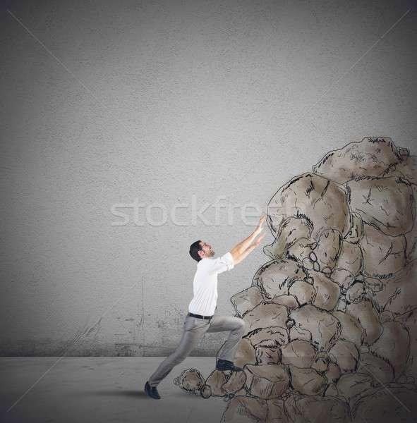 Climb the success Stock photo © alphaspirit