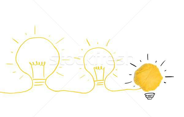 Idea and innovation concept Stock photo © alphaspirit