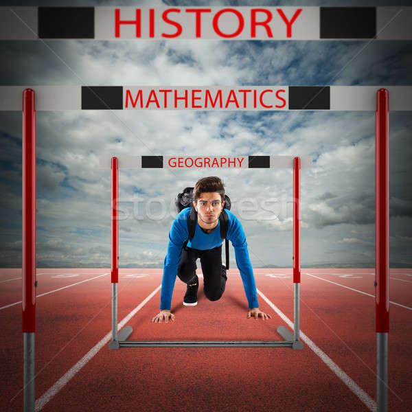 School subjects goals Stock photo © alphaspirit