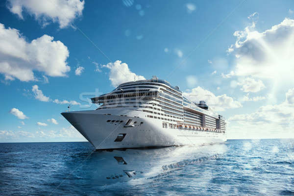 Cruise voyage Stock photo © alphaspirit