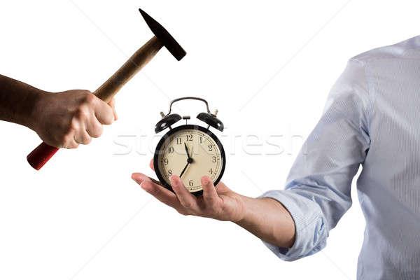 Alarm clock broken Stock photo © alphaspirit
