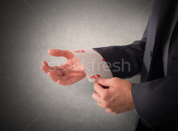 Trump card Stock photo © alphaspirit