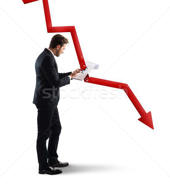 Crisis analysis Stock photo © alphaspirit