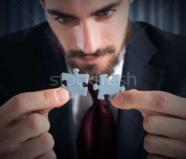 Unite and solve Stock photo © alphaspirit