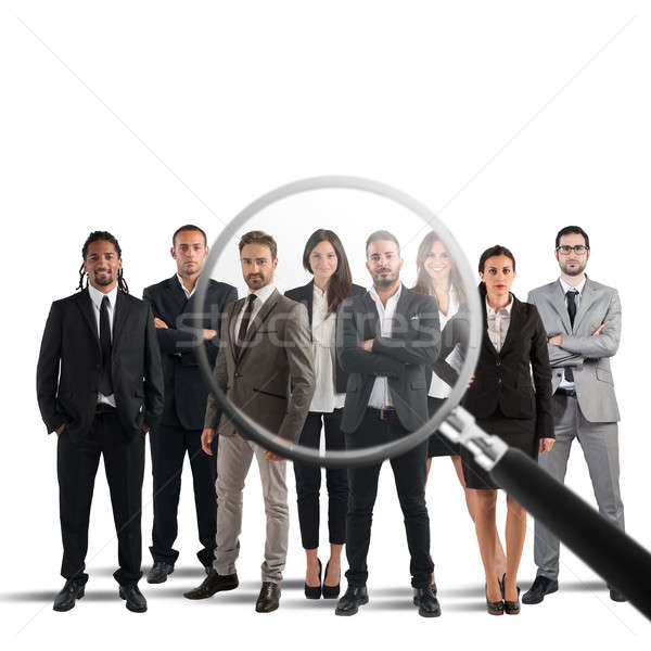 Recruitment and select candidates Stock photo © alphaspirit